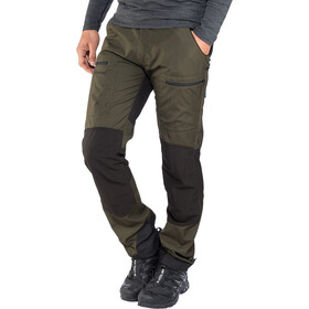 Pinewood Caribou TC Pantaloni Uomo, moosgreen/black